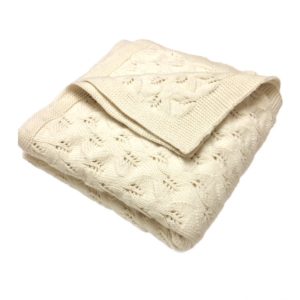 Cream-Merino-Wool-Baby-Blanket-1